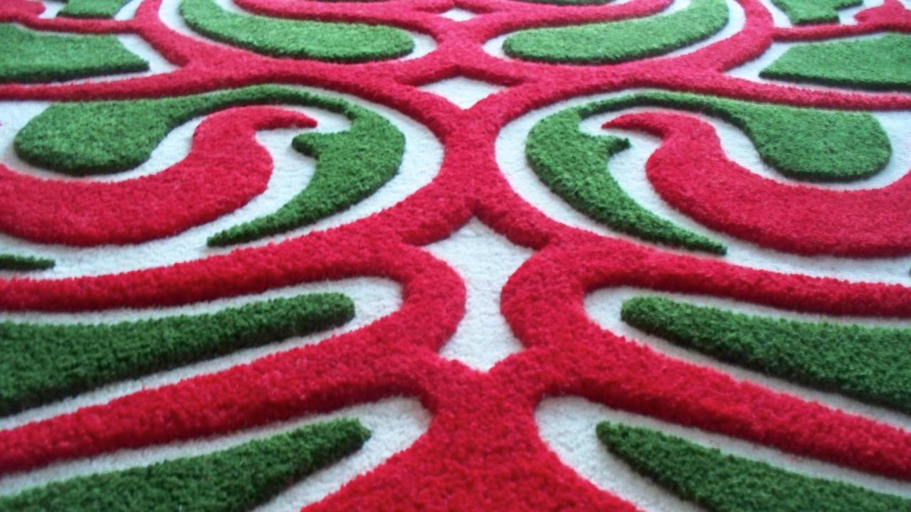 kézi tűzéses szőnyeg, kézi készítésű szőnyeg