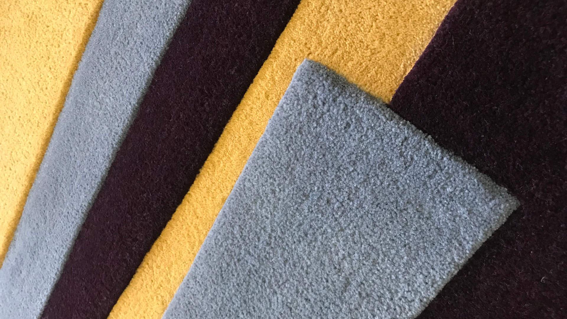 egyedi szőnyeg készítés, színgarancia, handtufting