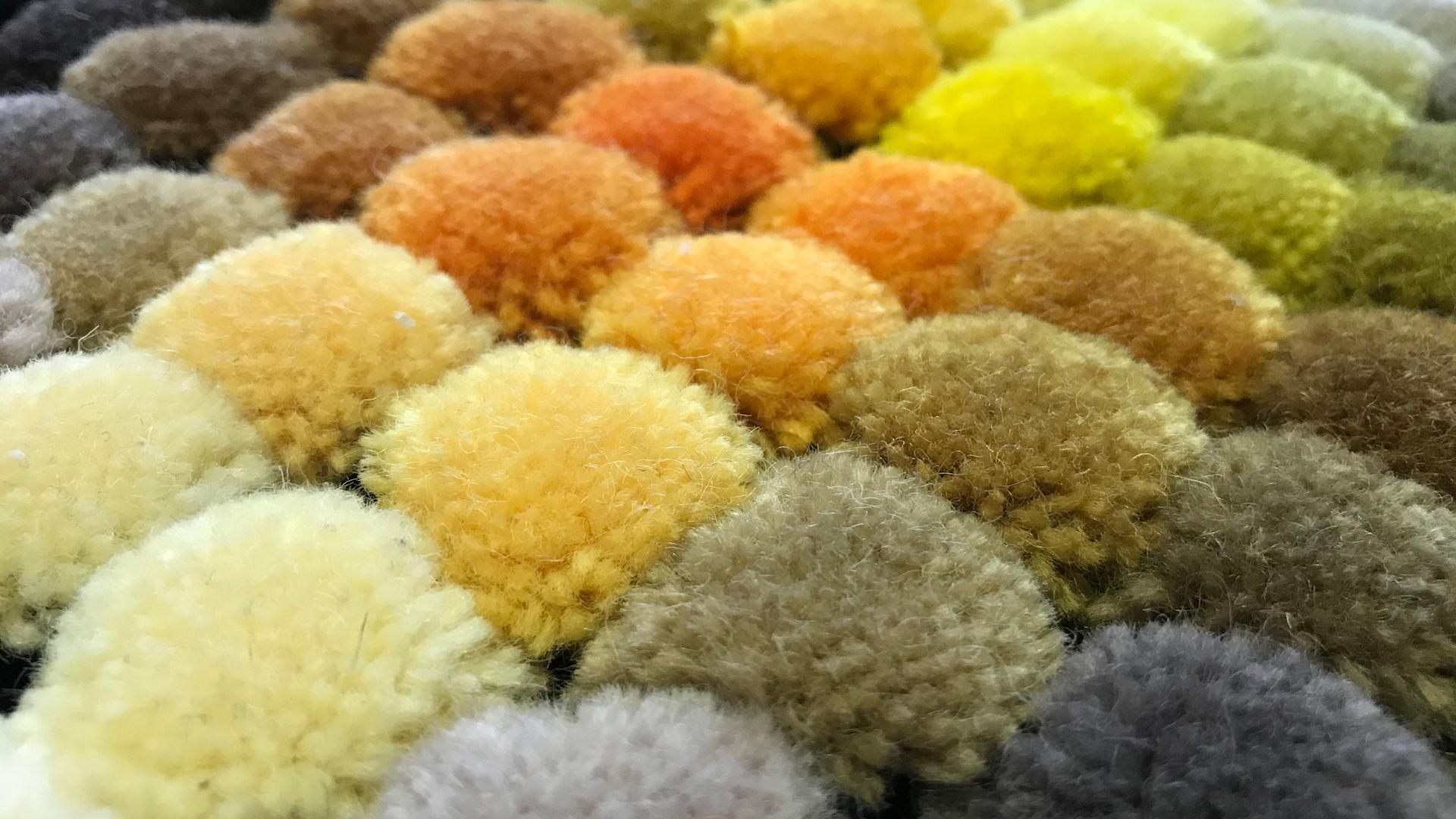 kézi tűzéses szőnyeg, színgarancia